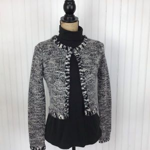 Autumn Cashmere Cropped Cardigan Sweater